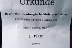 BBM U 20 / LM U 16 (Halle) in Potsdam