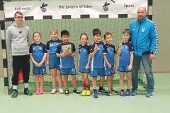 Handball-Minis: Turnier in Potsdam