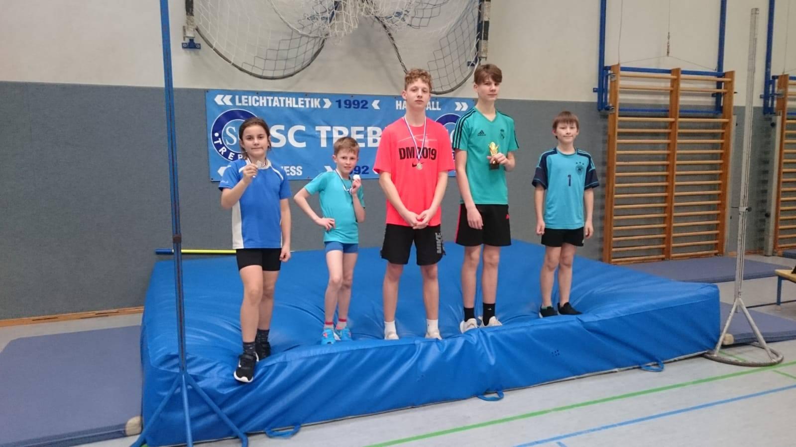 Teilnehmer Vereinsmeisterschaften Hochsprung 2020